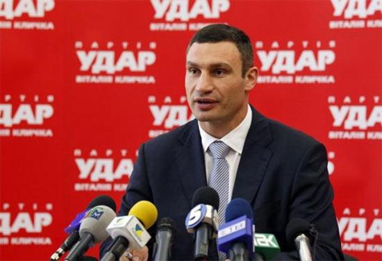 Віталій Кличко, УДАР