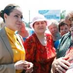 Під час візиту до Луганська Наталія Королевська відвідала міський морг