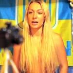 Активістка Femen оголилась в знак протесту проти урагану Сенді
