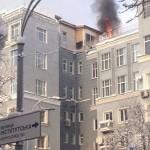 """Будівлю біля Верховної ради підпалили """"свободівці"""""""