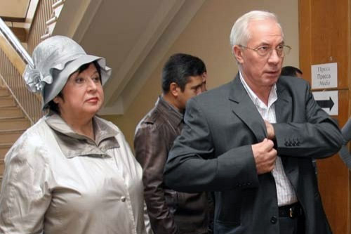 Людмила Азарова, Микола Азаров