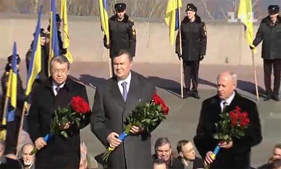 Віктор Янукович у Каневі