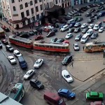 У Харкові через мітинг опозиції пасажири просиділи в трамваї сім годин