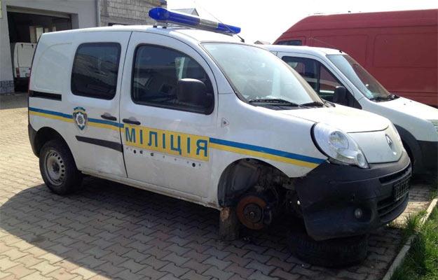 Міліцейська машина