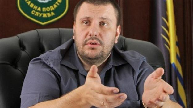 Олександр Клименко, міністр доходів і зборів