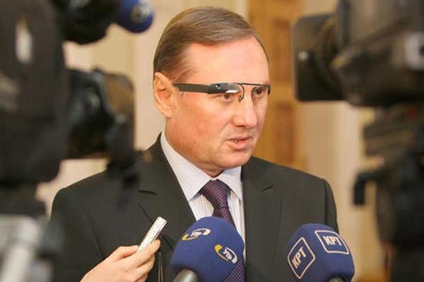 Депутат Олександр Єфремов в Google Glass
