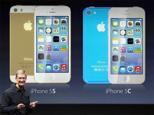 Apple iPhone 5C, iPhone 5S