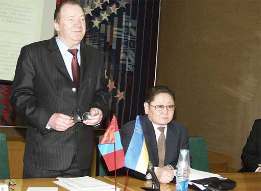 Монголія і Україна