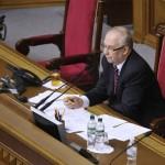Володимир Рибак приклеїв жуйку під столом президії Верховної Ради (фото)