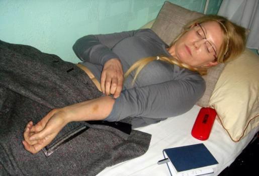 Юлія Тимошенко у в'язниці