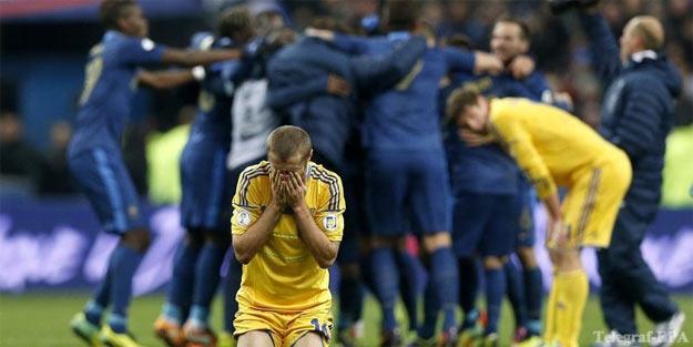 Футбол. Франція - Україна. 3:0