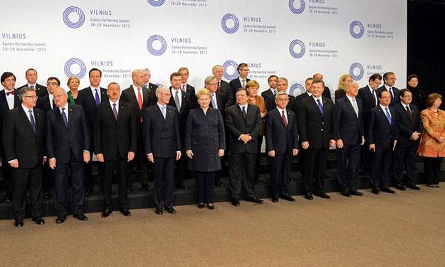 """Саміт """"Східного партнерства"""" у Вільнюсі 2013"""