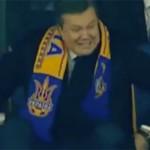 Віктор Янукович застряг. Матч Україна-Франція