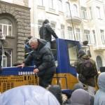 Дмитро Корчинський продає трактор