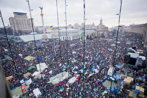 Євромайдан, 8 грудня 2013
