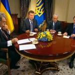 В Інтернет потрапили малюнки, які Янукович і Ющенко намалювали під час круглого столу