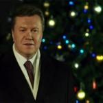 Під час новорічного привітання Януковича заснув охоронець хлібозаводу
