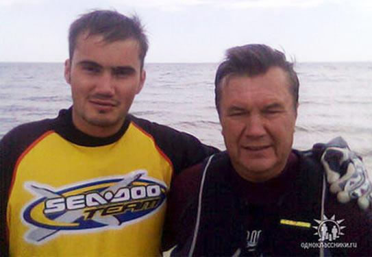 Віктор Янукович Молодший та Віктор Янукович