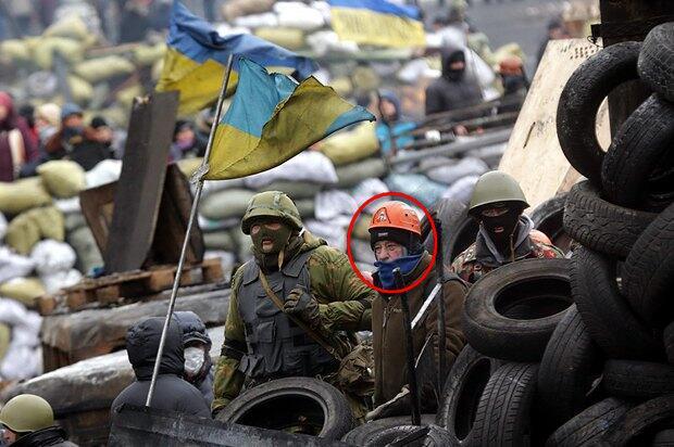 Микола Азаров на барикадах на вул. Грушевського