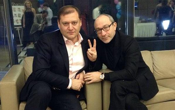 Михайло Добкін та Геннадій Кернес