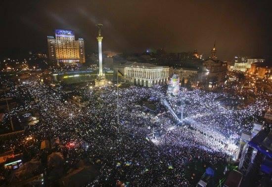 Майдан Незалежності, Новий Рік
