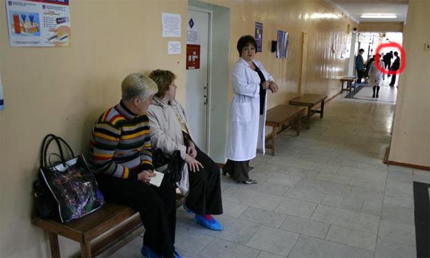 Віктор Янукович в поліклініці
