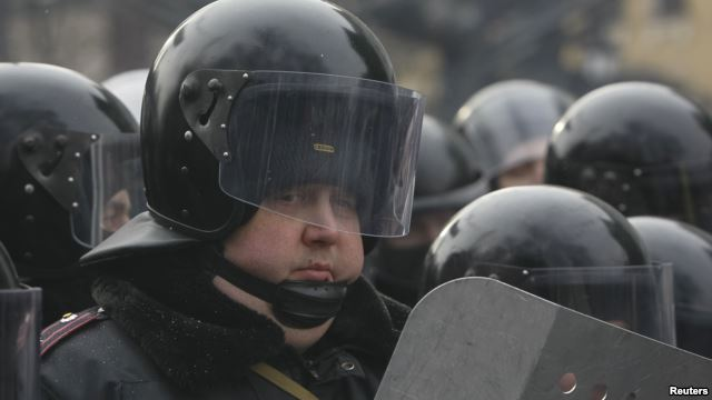 Внутрішні війська на Грушевського