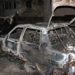У МВС пояснили причину займання спалених автомобілів активістів Автомайдану