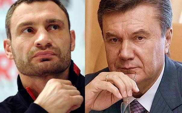 Віталій Кличко, Віктор Янукович
