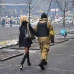 """Фотофакт: На Майдані затримали """"беркутівця"""" в цивільному"""