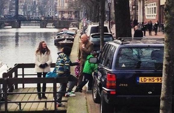 Дмитро Кисельов в Амстердамі