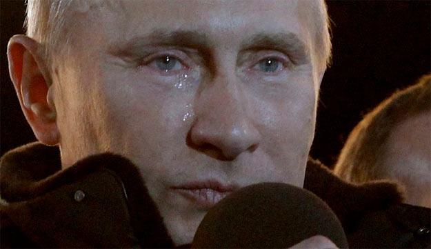 No Putin no cry