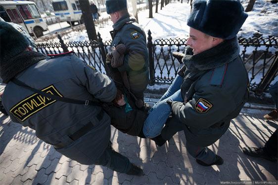 Росія: затримані за екстремізм