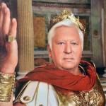 Віктор Пшонка в образі Цезаря