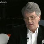 Ющенко заявив, що він є єдиним легітимним президентом в Україні