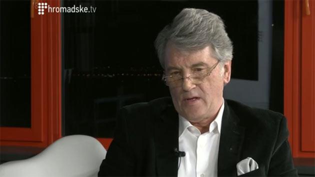 Віктор Ющенко на Громадському телебаченні