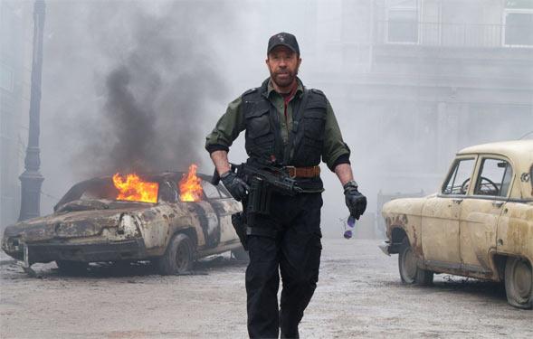 Чак Норріс бореться з сепаратистами на сході України