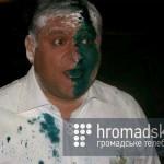 Михайло Добкін відвідав футбольний матч Карпати – Динамо
