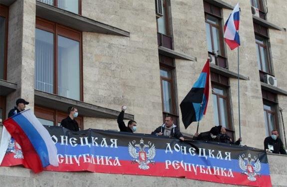 Донецьк, сепаратисти