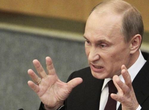 Володимир Путін, злий