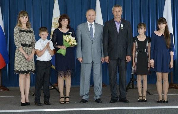 Путін у шароварах