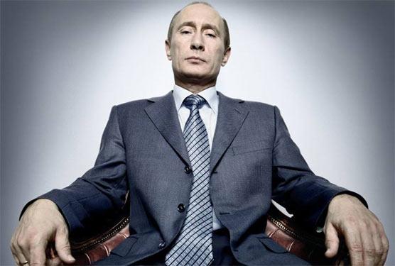 Володимир Путін, Time