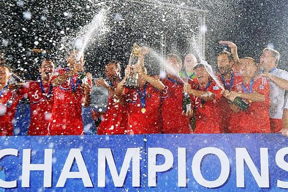 Збірна Росії з футболу - чемпіон світу