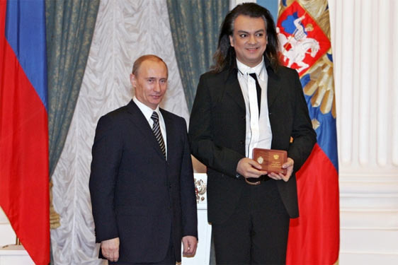 Ріст Путіна: Путін і Кіркоров