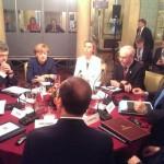 """Фотофакт: В Мілані європейські лідери зіграли у """"Мафію"""""""