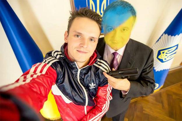 Руфер Мустанг зустрівся з Арсеном Аваковим