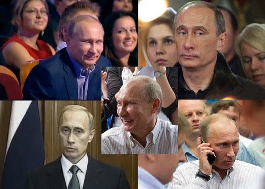 Двійники (клони) Путіна
