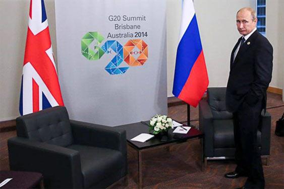 """Володимир Путін на самміті """"Великої двадцятки"""""""