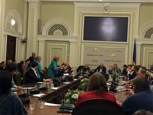Засідання фракції БПП