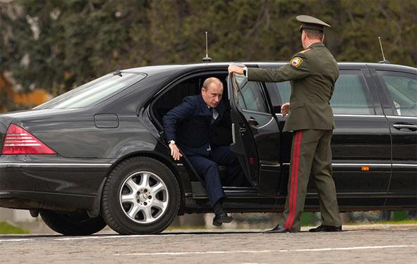 Кортеж Путіна